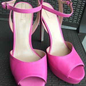Aldo Hot Pink Heels